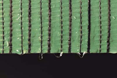 GreenGuard RainDrop, Pactiv's woven housewrap