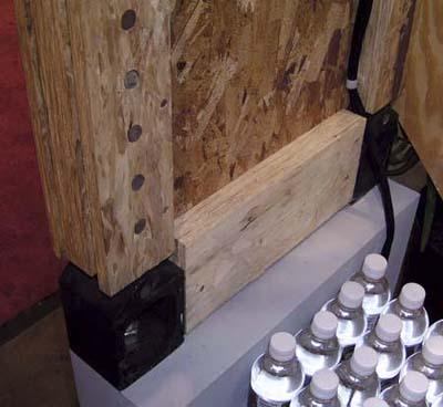 earthquake resistant engineered lumber from Weyerhaeuser