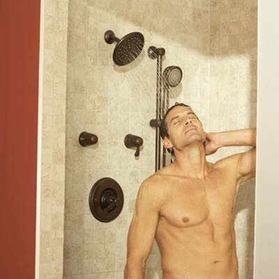 shower heads from Moen