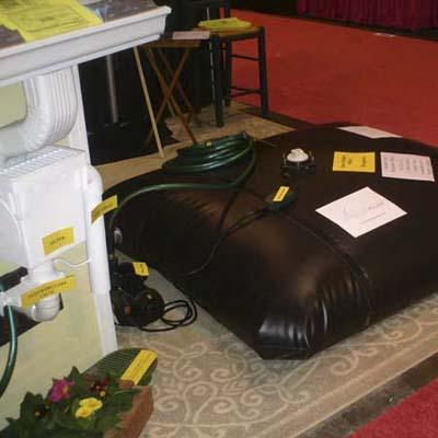 Rainwater Pillow