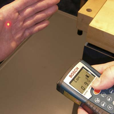 Bosch Laser Range Finder