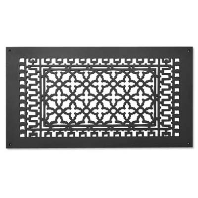 iron grille to cover a ceiling exhaust vent