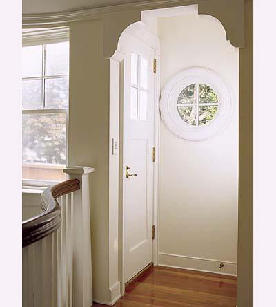 arched vestibule