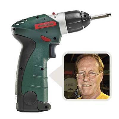 Jeff Coghill,and Metabo Powergrip II