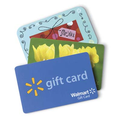 3 gift cards