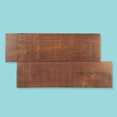 Wide wood plank flooring