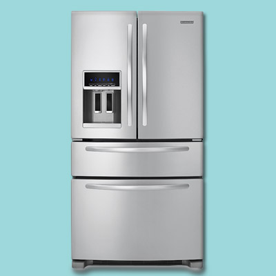 Foor door refrigerator