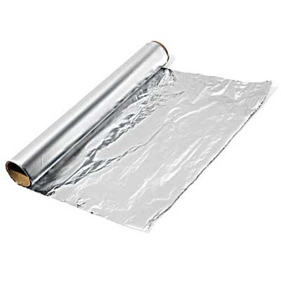 Aluminum foil drawing for Aluminum cuisine