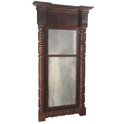 R Squared Antiqued Mirror Co. ages new glass to match old looks