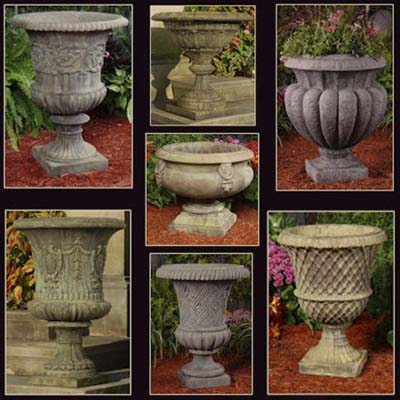 Unique Stone offers reproduction garden ornaments