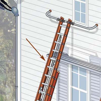 never use ladder jacks higher than 20 feet