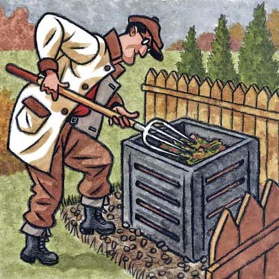 creating and maintaining a compost pile can be easier than you think, and pay off big in the garden