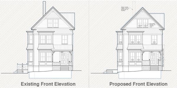 Cambridge House Front Elevation
