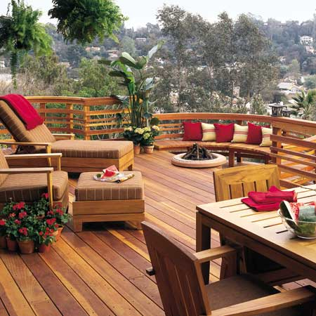 backyard deck designs
