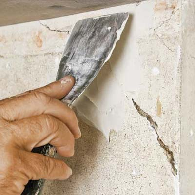 Fill The Crack How To Fix Damaged Plaster This Old House