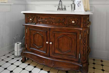 how to make old furniture look antique