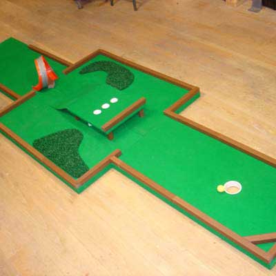 make a flexible ramp how to build a miniature golf