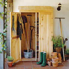 ... More On Storage | How to Build a Garden Tools Shed | This Old House