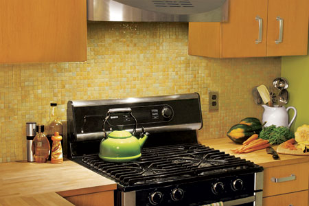 how to install a glass mosaic tile backsplash this old house