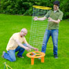 two men assembling shishkaball game