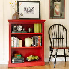 how to build a small bookcase