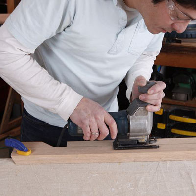 notching the feet for the base of a storage chest