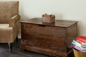 a finished storage chest