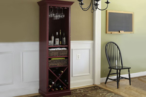 How to Build a Wine Hutch