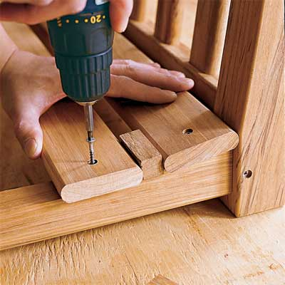 how to make a porch swing
