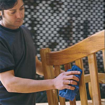 Apply Finish to build your own porch swing