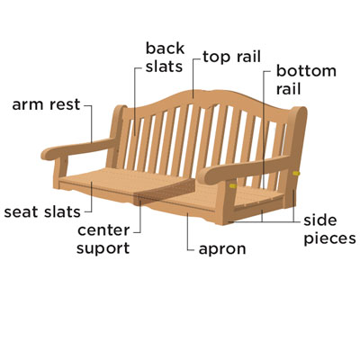 porch swing construction plans