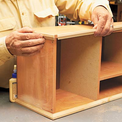 How To Make A Simple Desk Hutch