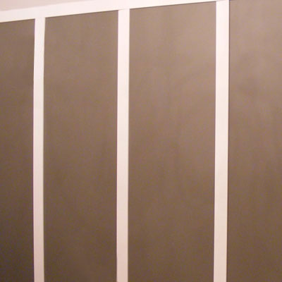 Install the Stiles | How to Create a Faux Paneled Accent Wall ...