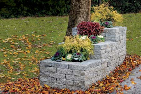 How to build a stone planter this old house