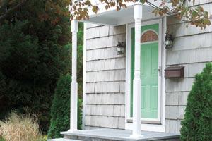 new porch posts