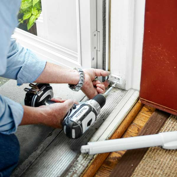 Attach The Brackets How To Install A Storm Door This Old House