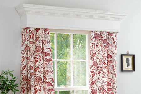 build wood window valance