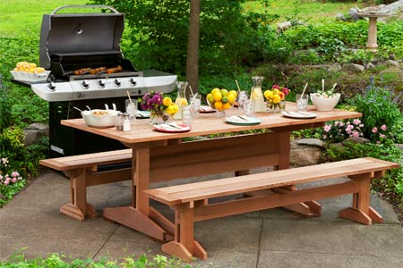 Bench and Picnic Table Plans