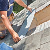 install watertight skylight take out roof piece, add roof sheathing around edges