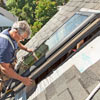 install watertight skylight place skylight in roof hole