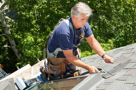 install a watertight skylight