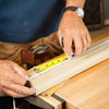 marking the space between balusters