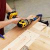 drilling pocket holes for the sliding barn door