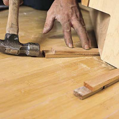 How to Install Base Kitchen Cabinets on an Uneven Floor