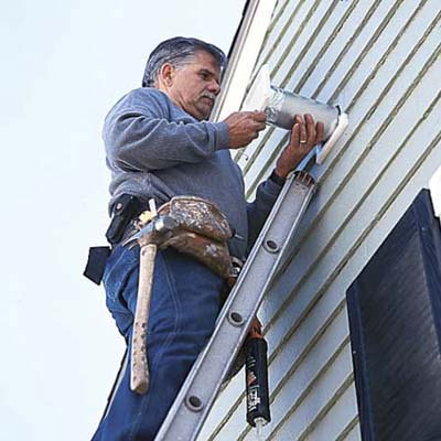 Install the wall cap installing a bathroom vent fan this old house - Install bathroom fan duct ...