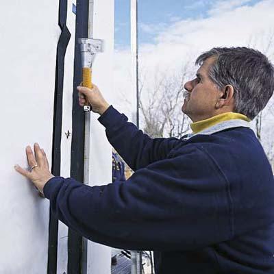 weatherproofing the walls