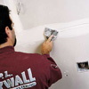 installing drywall