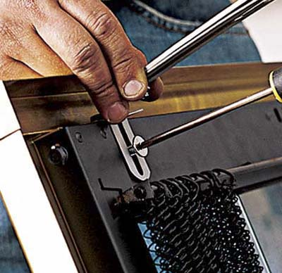 Adjust The Clamps How To Install Glass Fireplace Doors