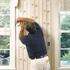 trimming wallpaper around windows