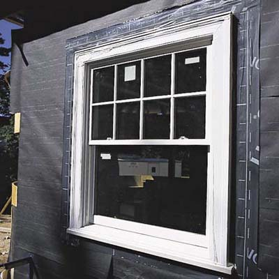insulate against drafts how to install a window this old house. Black Bedroom Furniture Sets. Home Design Ideas